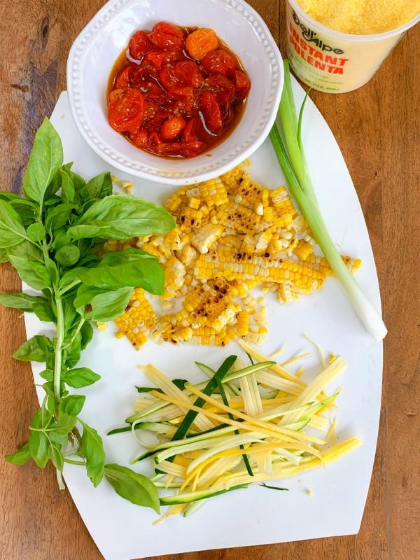 ingrédients de la polenta