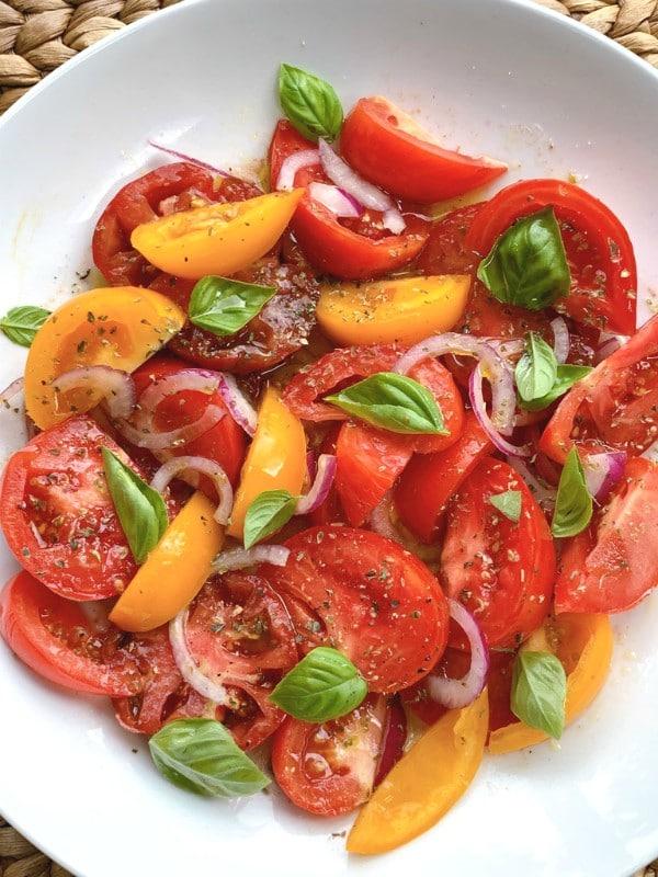 tomates d'été