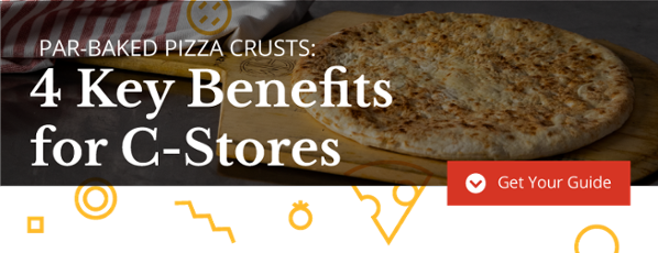 Croûtes de pizza précuites pour les dépanneurs