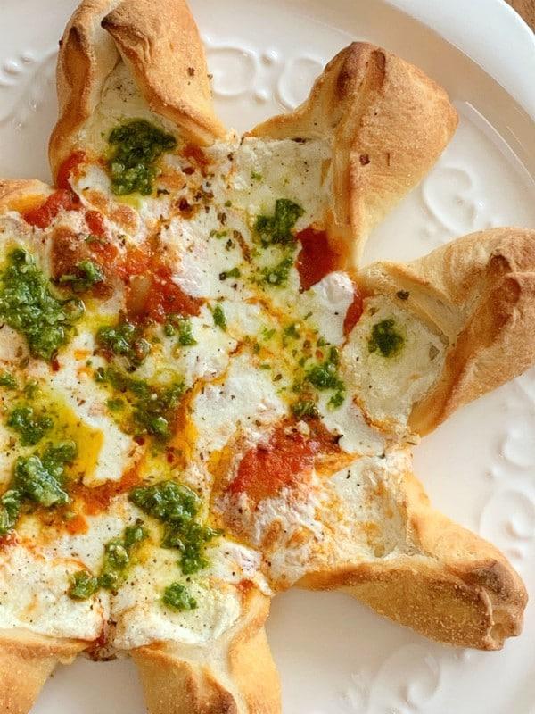 pizza étoilée