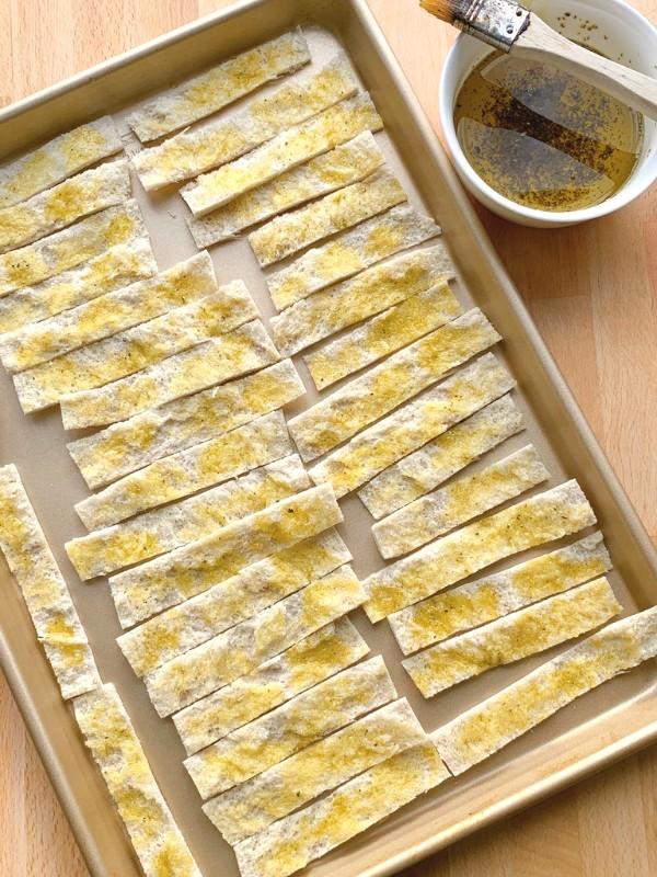 huile d'olive brossée