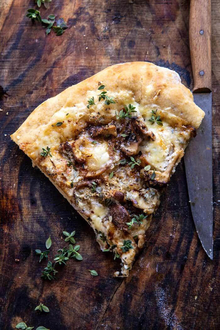 une seule tranche de pizza