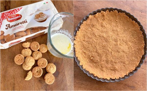 croûte de biscuits amaretti