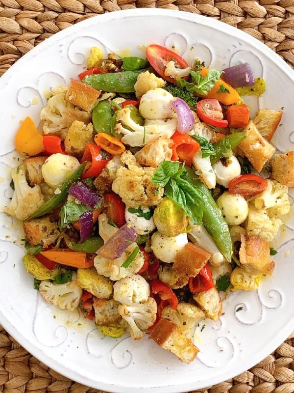 panzanella végétarienne
